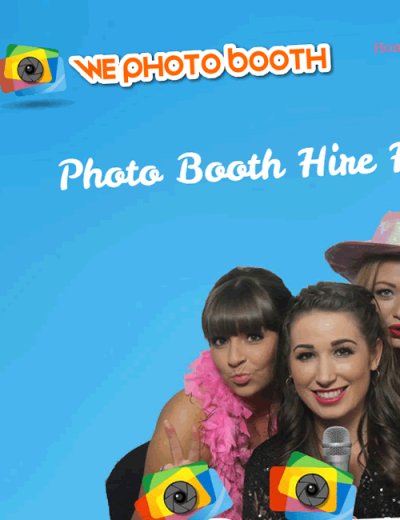 We Photo Booth Portfolio Pic